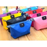 Spesifikasi 10 Pcs Tas Kosmetik Lipat Dompet Make Up Cosmetic Pouch Bag Random Colour Terbaik