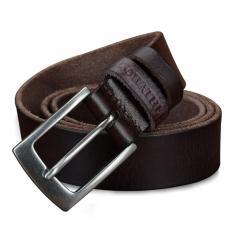 Spesifikasi Cowather Gaun Ratchet Pria Asli Asli With Pin Buckle Sabuk Kulit Atas Sapi Kulit Asli Pria Pin Buckle Belts Online