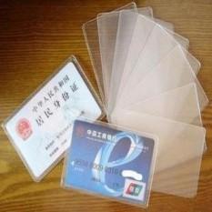 [10pcs] Sarung Pelindung Kartu ATM / Kartu Kredit / SIM / KTP HHM032