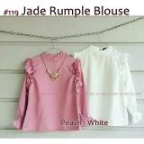 Obral 119 Jade Rumple Blouse Reseller 2Pcs 45Rb Murah