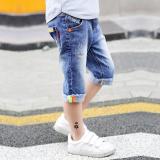 Jual 12 Anak Bagian Tipis Celana Jeans Anak Denim Celana Anak Laki Laki Celana Pendek Biru Tiongkok