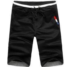 12 Laki-laki Remaja SMP SMA Celana Selutut Celana Pendek (Hitam) celana Pria Celana Pendek Pria Celana CHINO Pria