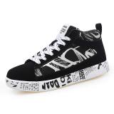 12 Musim Semi Dan Musim Gugur Smp Siswa Sekolah Dasar Remaja Kebugaran Kanvas Sepatu Hitam Dan Putih Sepatu Pria Sepatu Sneakers Sepatu Sport Sepatu Casual Pria Asli