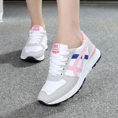 12 Sepatu Cortez Nike Remaja Anak Perempuan Sepatu Santai Wanita Remaja (309 Merah Muda)