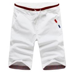 12 Remaja Anak Laki-laki Siswa Sekolah Menengah SMP Celana Cargo (Putih) celana Pria Celana Pendek Pria Celana CHINO Pria
