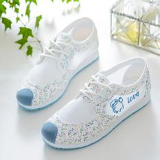 12 Siswa Sekolah Dasar Kurang Anak Perempuan Model Musim Panas Sepatu Wanita (Danau Biru) Sepatu Wanita Sendal Wanita