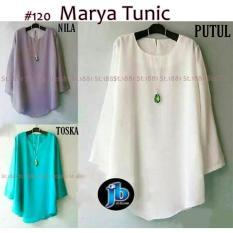 #120 Marya Tunic ( RESELLER 2PCS @45RB) Casual Tunik