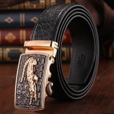 Beli 120 Cm 5 Cm Pria Cowboy Leather Otomatis Belt Mbt021142 1 Hitam Emas Intl Oem Dengan Harga Terjangkau
