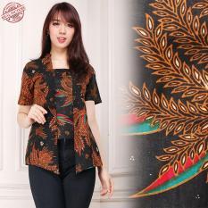 168 Collection Atasan Abaya Blouse Sifra Kemeja Batik WanitaIDR67900. Rp 67.900