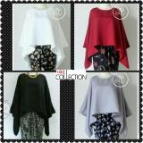 Dimana Beli 168 Collection Atasan Blouse Batwing Series Hitam 168 Collection