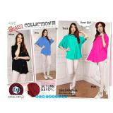 Harga 168 Collection Atasan Blouse Jouline Kemeja Jumbo Biru 168 Collection Terbaik
