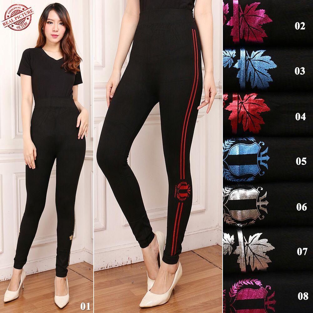 Bandingkan Toko 168 Collection Celana Legging Senam Beuties Longpant Jumbo Wanita sale - Hanya Rp75.