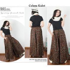 168 Collection Celana Kulot Batik Jumbo Rhiana Long Pant Wanita