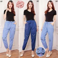 168 Collection Celana Panjang Milla Jeans Joger