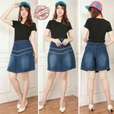 Iklan 168 Collection Celana Rok Jumbo Anokhi Hot Pant Jeans Wanita