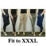 Review Pada 168 Collection Celana Tamara Jumbo Long Pant Hitam