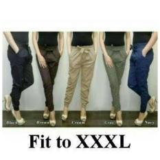 Top 10 168 Collection Celana Tamara Jumbo Long Pant Hitam Online