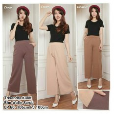 Review 168 Collection Celana Trichocolate Kulot Pant Choco 168 Collection