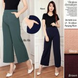 168 Collection Celana Viarra Kulot Pant Coklat 168 Collection Murah Di Banten