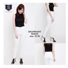 Ongkos Kirim 168 Collection Celana Whitely Jeans Pant Putih Di Banten