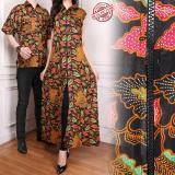 Harga 168 Collection Couple Gamis Longdress Venna Dan Kemeja Batik Pria Merk 168 Collection