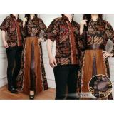 Harga 168 Collection Couple Maxi Dress Harvest Gamis Batik Coklat Merk 168 Collection