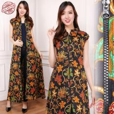 168 Collection Gamis Maxi Dress Clara Longdress Terusan Batik Wanita
