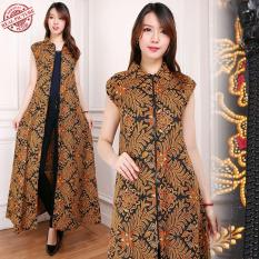 Beli 168 Collection Gamis Maxi Dress Gita Longdress Terusan Batik Wanita Murah Indonesia