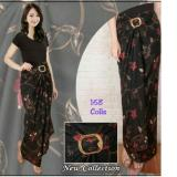 Berapa Harga 168 Collection Rok Maxi Lilit Cool Black Batik Hitam 168 Collection Di Banten