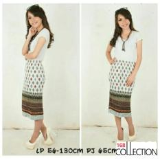Dimana Beli 168 Collection Rok Plisket Jumbo Grey Peplum Batik Skirt Abu 168 Collection
