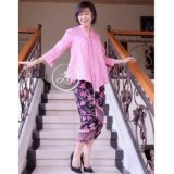 Beli 168 Collection Stelan Atasan Blouse Amelia Kebaya Dan Rok Lilit Batik Ungu 168 Collection