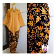 168 Collection Atasan Blouse Moniq Abaya Dan Rok Lilit Batik-AbuIDR134900. Rp 134.900 168