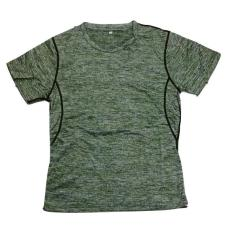1703# Kaos lari baju olahraga gym fitness jersey futsal sepakbola latihan olahraga import