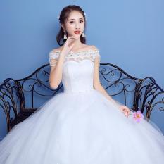 1712067 Gaun Pengantin Putih Sabrina Wedding Gown Wedding Dress