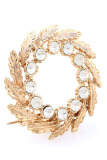 Jual 1901 Jewelry Circle Brooch 1500 Bros Wanita Gold 1901 Jewelry Branded
