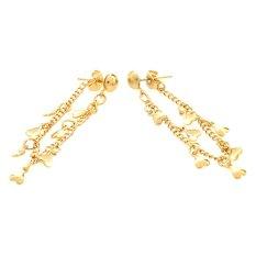 Spesifikasi 1901 Jewelry Indica Earring Anting Wanita Gold Murah