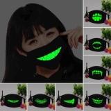 Jual 1 Pc Mulut Mask Light In The Dark Anti Debu Tetap Hangat Cool Unisex Topeng Hitam Noctilucent Cotton Face Mask Intl Di Bawah Harga