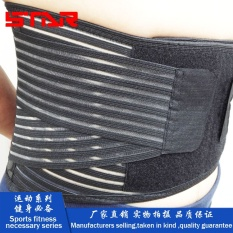 Harga 1 Pc Pinggang Belt Belly Back Support Brace Belt Lumbar Pinggang Bawah Double Body Building Adjustable Pinggang Brace Back Pain Relief Intl Terbaik
