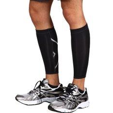 Beli 1 Buah Kaki Sapi Mendukung Lulus Kompresi Kaki Lengan Kaus Kaki Olahraga Kolam Olahraga Hitam L International Baru
