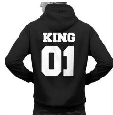 Beli 1 Pcs Pria Black King Hoodie Raja Dan Ratu Hip Hop Long Sleeve Couple Hoodie Coat Jaket Pria Hoodie Untuk Pria Intl Online