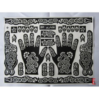 Beli sekarang 2 Pcs Nabawi cetakan Henna Tangan Motif cantik terbaik murah  - Hanya Rp18.220 5f8d8f94d7