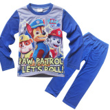Spek 2 Pieces Boys 3 8 Tahun Baru Piyama Home Clothes Piyama Set Warna Biru Intl