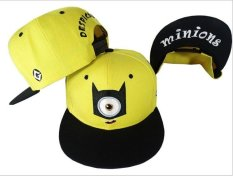 Toko 2015 Topi Bisbol Anak Gorras Kuning Mepet Tuhan Mencuri Film Kartun Ayah Minions Datar Kanvas Snapback Hip Hop Hat Internasional Di Tiongkok
