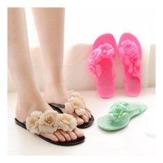 2015 Gaya Musim Panas Sandal dan Flip Flops Belanja Online Elegan Sepatu Sandal Murah Wanita Sepatu-Intl
