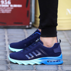 Beli 2016 Air Cushion Mens Athletic Outdoor Olah Raga Sepatu Running Sepatu Biru Intl Pakai Kartu Kredit