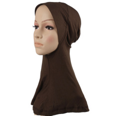2016 Fashion Muslim Syal Jilbab Selendang Baru Fashion Stretchy White Muslim Topi Jilbab Underscarf Caps Turban Women S Bonnet Intl Not Specified Diskon 50