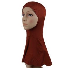2016 Kerudung Muslim Cotton Muslim Wanita Leher Penutup Islam Underscarf Ninja Inner Jilbab Bonnet Wanita Scarf (Intl)