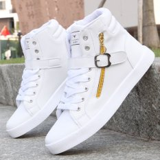 Harga 2016 New Men S Shoes Fashion Breathable Casual Sneakers Running Shoes High Top Intl Paling Murah