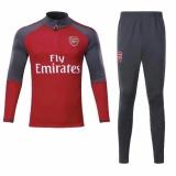 Ulasan Lengkap 2017 2018 Tim Sepak Bola Arsenal Lengan Panjang Pelatihan Pakaian Pria Sepak Bola Jersey Olahraga Pakaian Sweatshirt Setelan Merah Intl