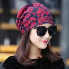 2017 Musim Gugur Elegan Han Melarang Bai Ambil Middle Age Remaja Kubah Berventilasi Baik Renda Besar Jilbab-Internasional